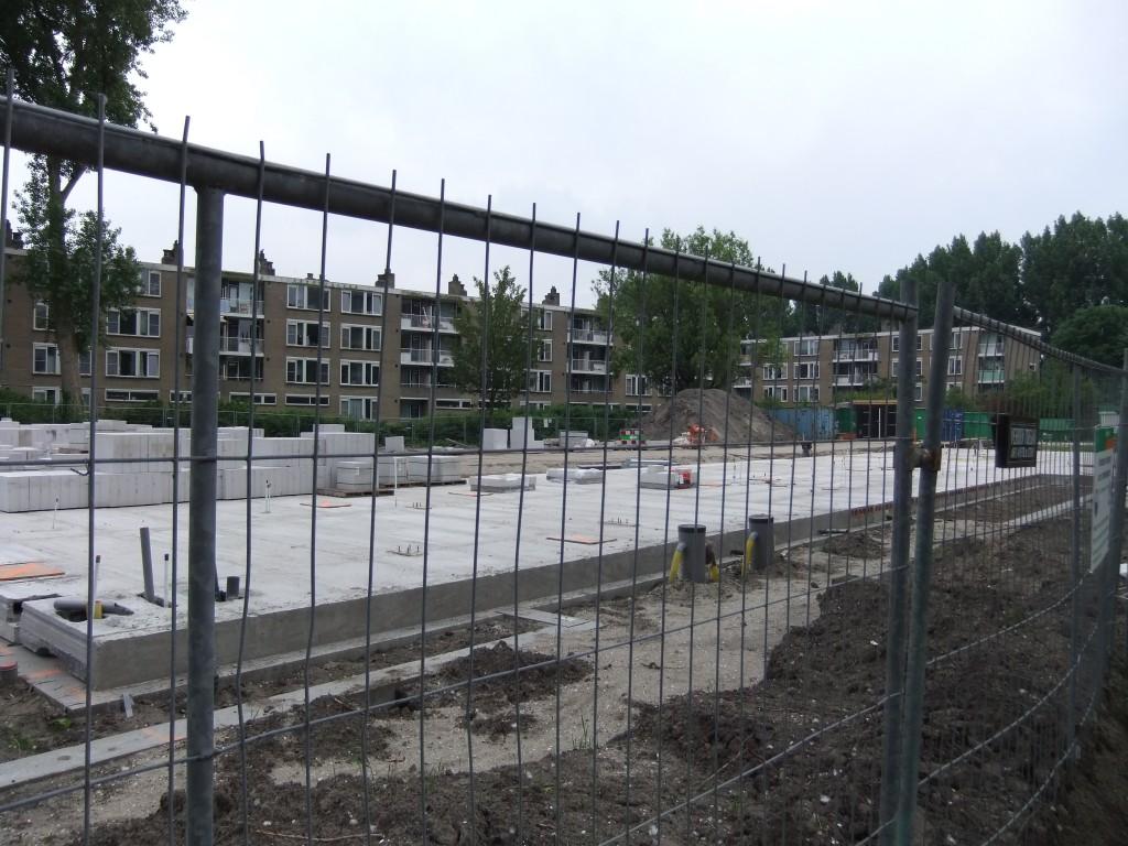 Stand van de bouw op 9 juni 2014